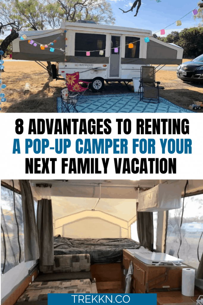 Advantages to Renting a Pop-Up Camper
