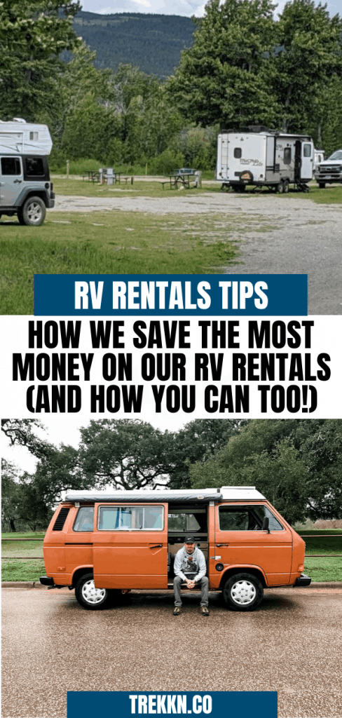 Save Money on RV Rentals