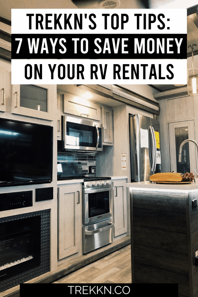 Money saving tips for RV Rentals