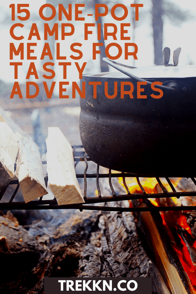 One Pot Camp Fire meals for your RV trip