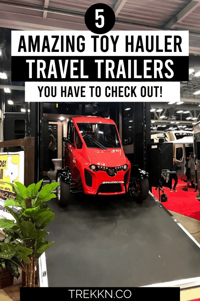 Best toy hauler travel trailers