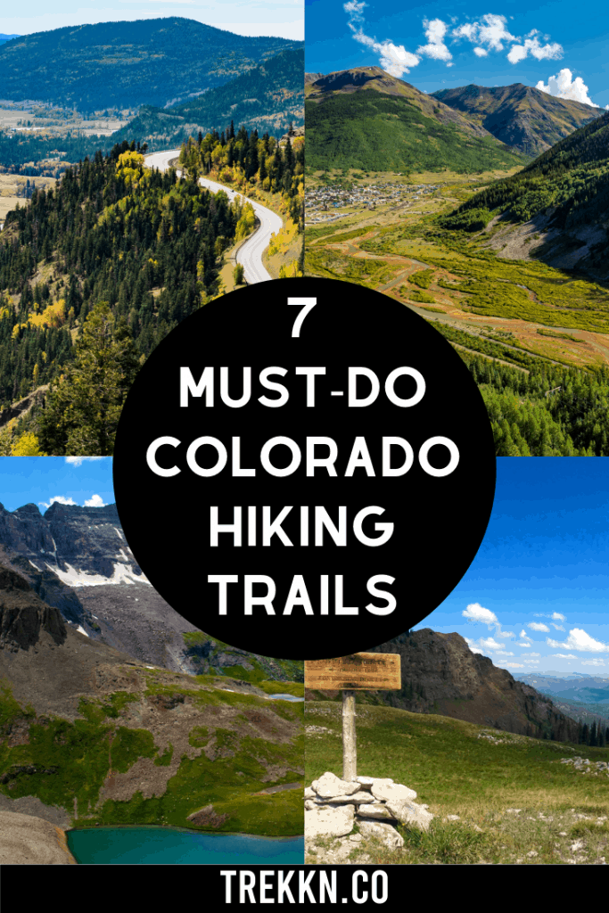 best southwest colorado hiking trails