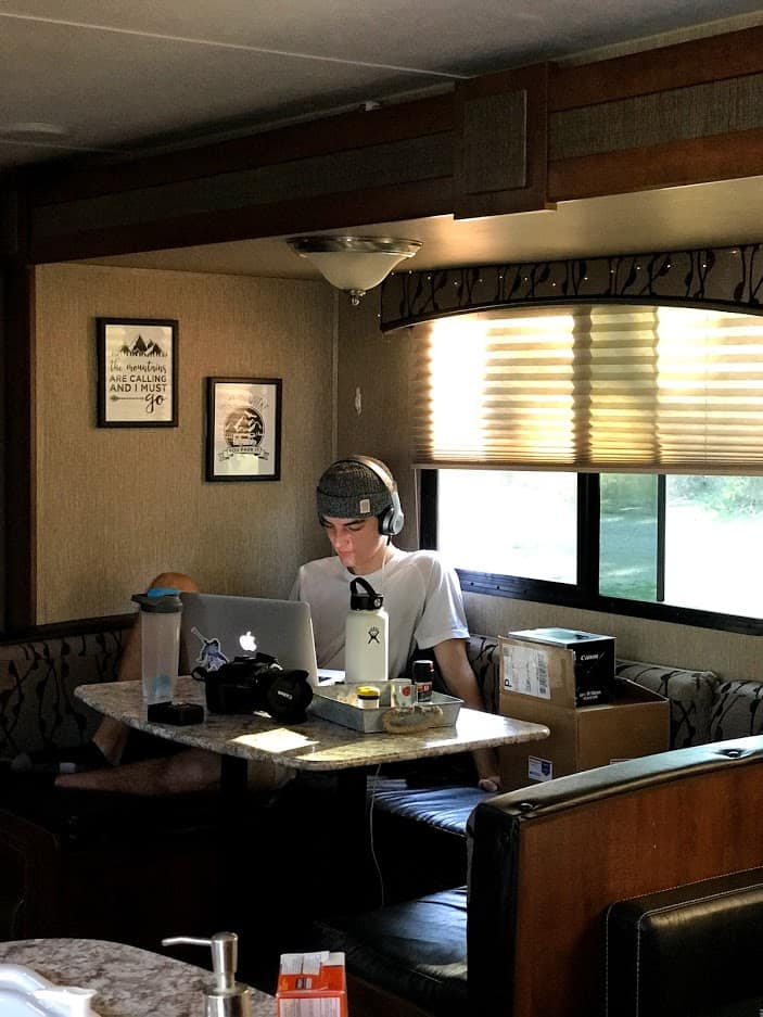 5 Work from Home RV Office Spaces to Give You Inspiration