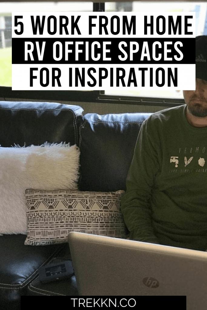 RV office Set up