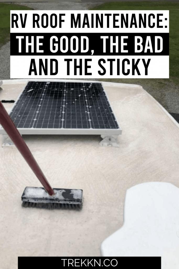 RV Roof Maintenance tips
