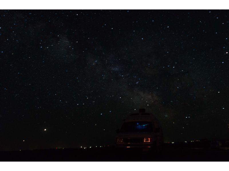 Stargazing in Badlands National Park
