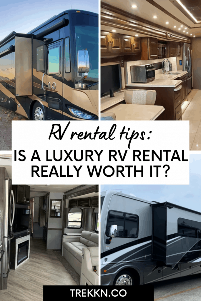 LUXURY RV RENTALS tips