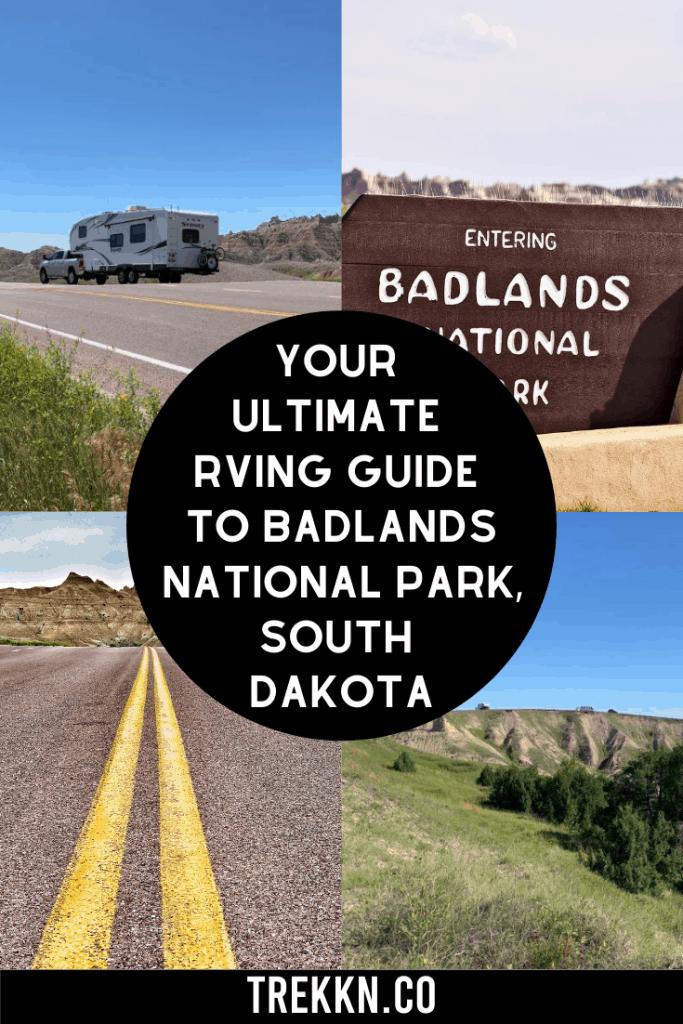 Badlands National Park South Dakota RV Guide
