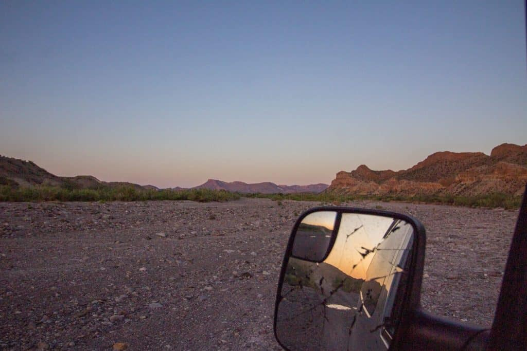 The Mountains of Big Bend National Park