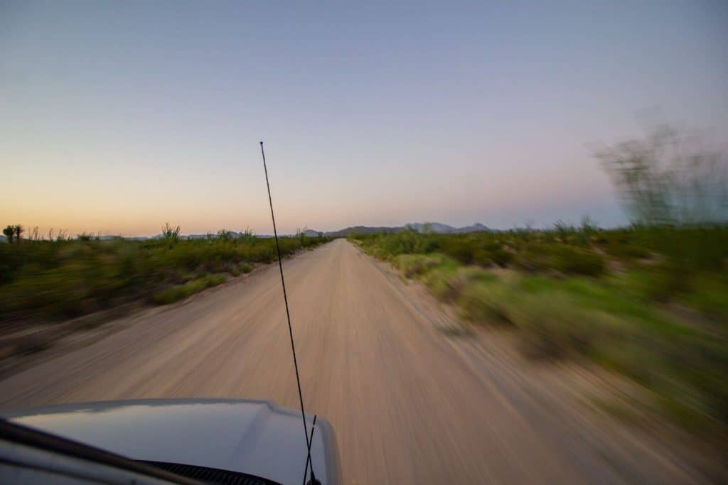 The Roads in Big Bend National Park