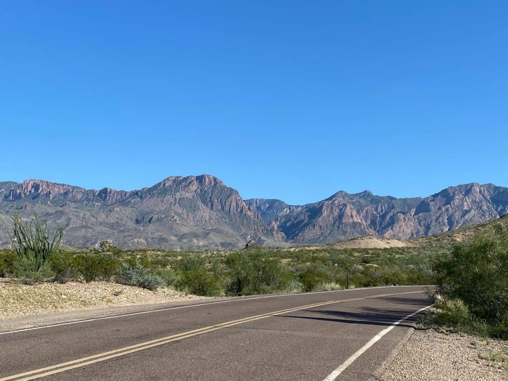 Mountains of Big Bend National Park
