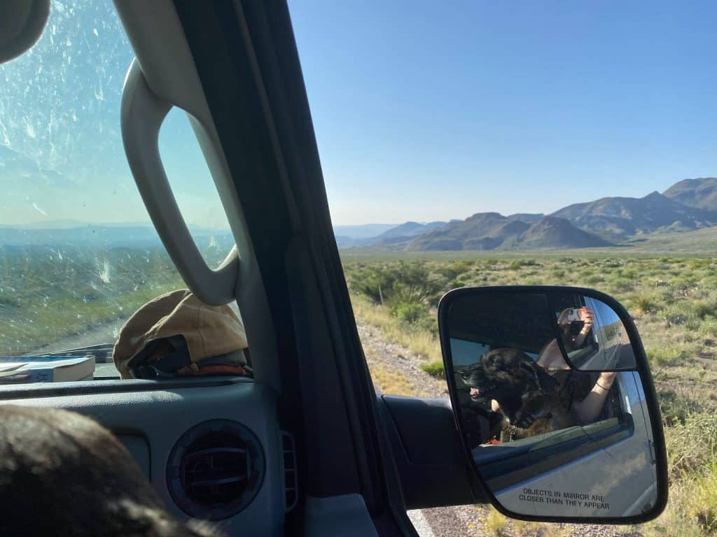 Driving to Big Bend National Park