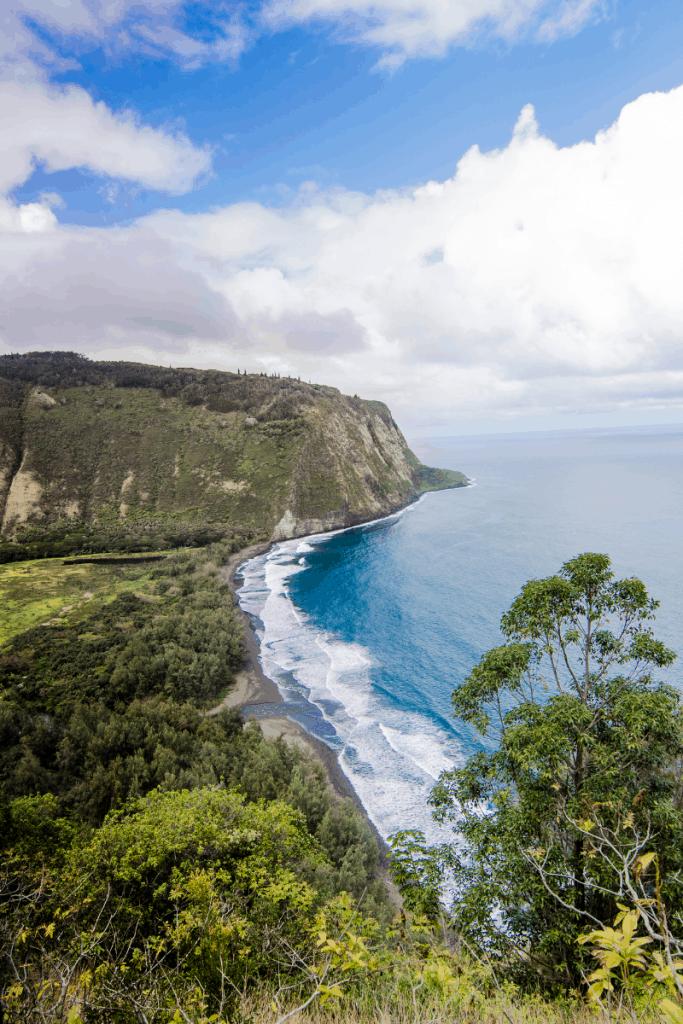 The Waipi'o Valley on the Big Island of Hawaii