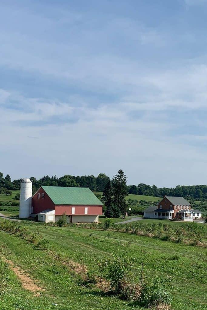 Hershey PA farm land