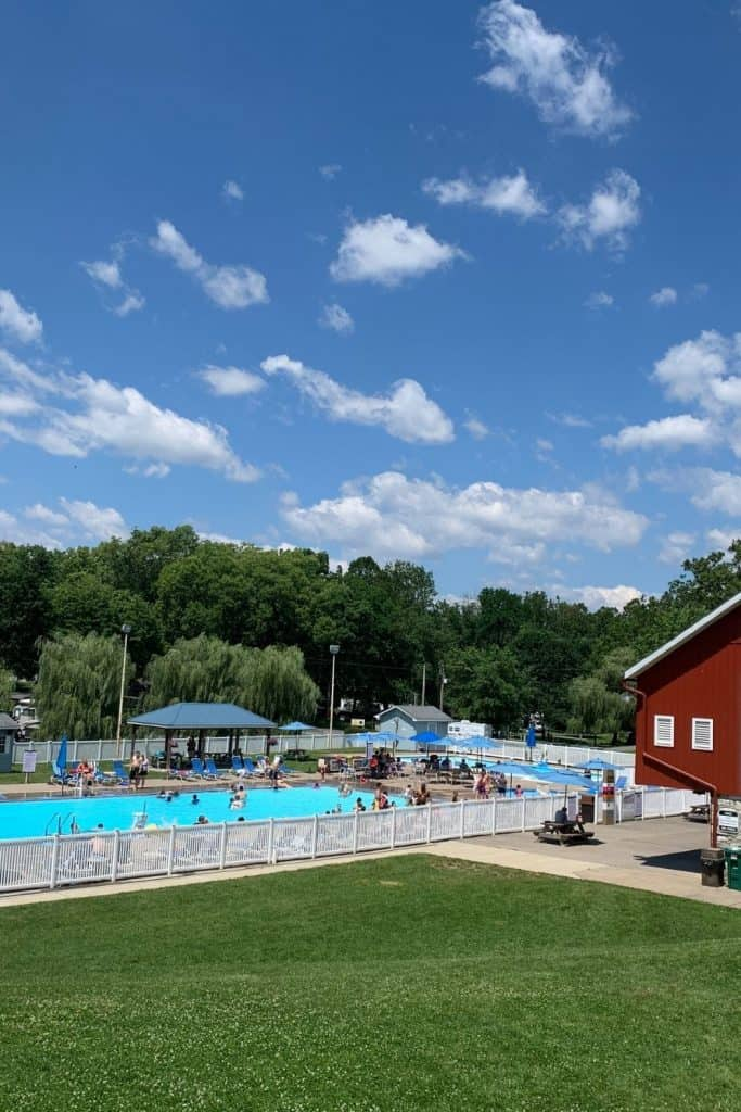 Hershey PA Campground Pool