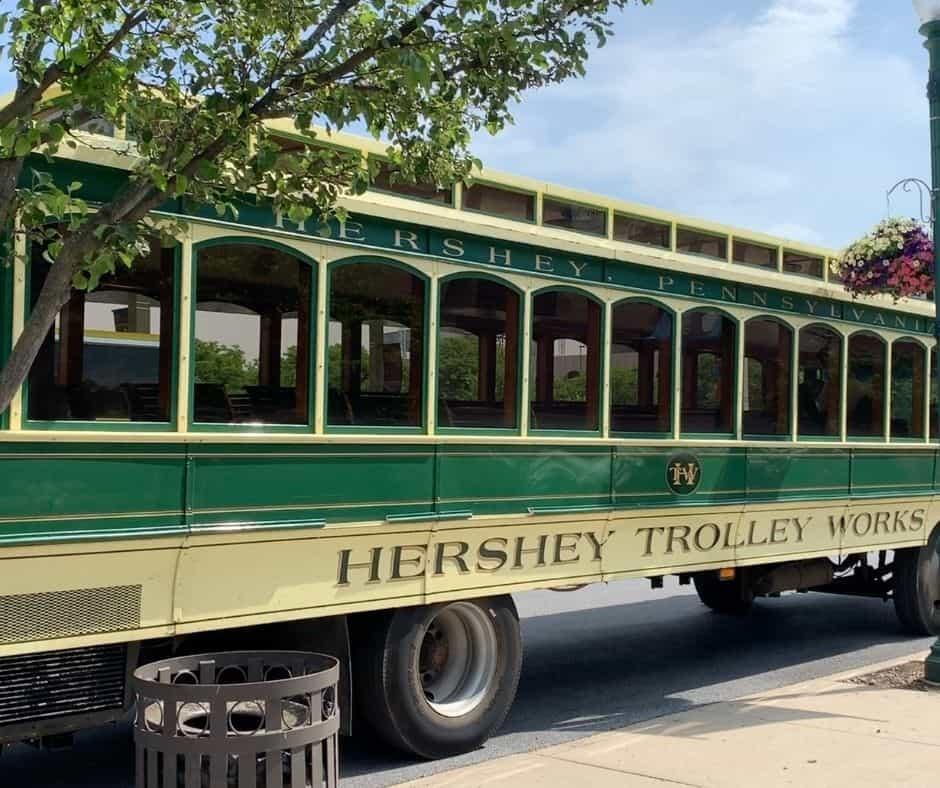 Hershey PA trolley tour
