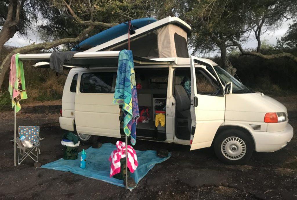 renting a campervan in hawaii
