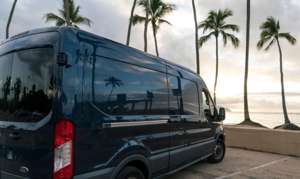 Oahu Ford Transit Van rental