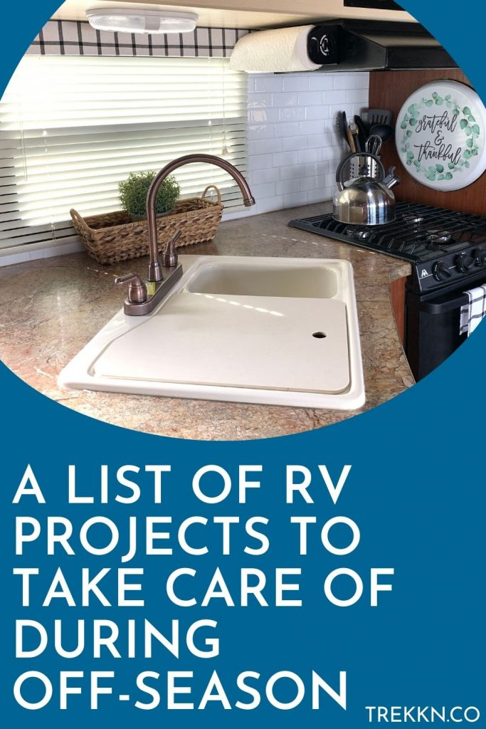 the best RV projects to tackle in the off-season