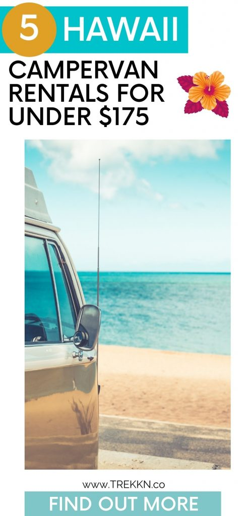 what you need to know about renting a campervan in Hawaii