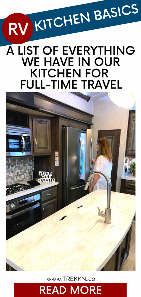 RV kitchen must-haves for full-time rv living