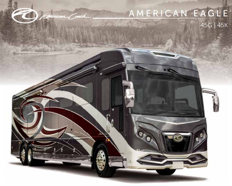 American Eagle Class A Motor Coach Luxury RV