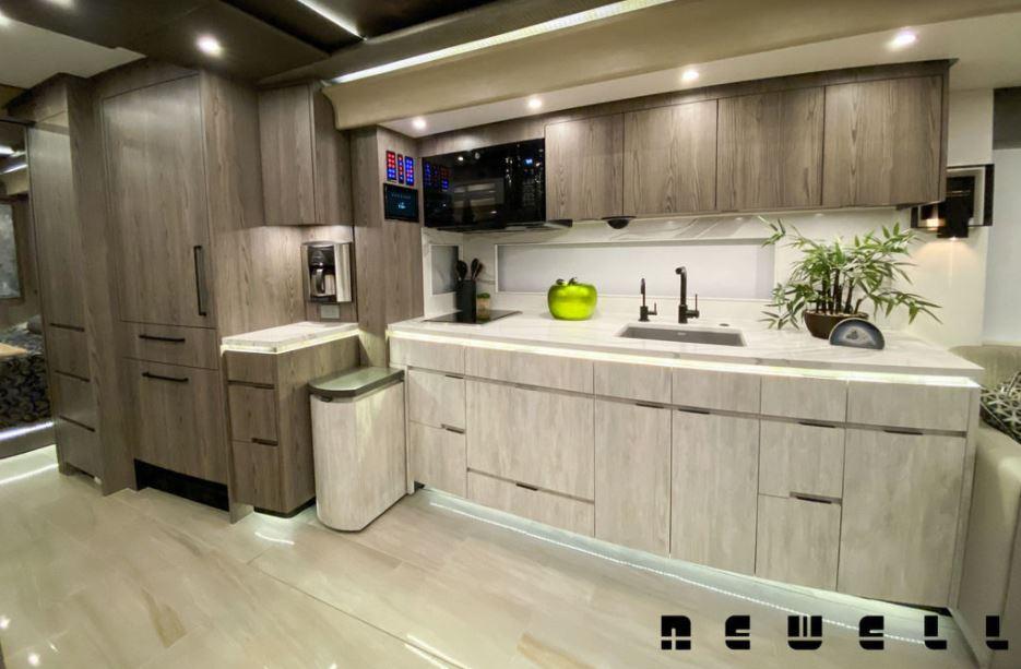 Newell Coach P50 RV Kitchen
