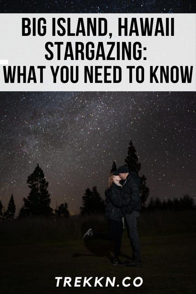 big island hawaii stargazing
