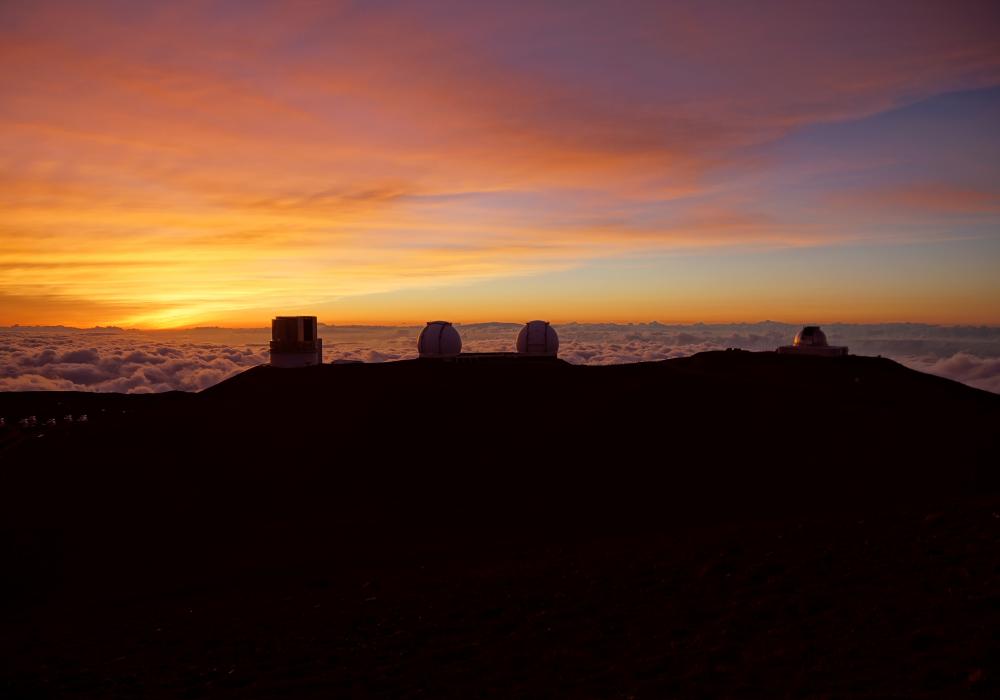 Mauna Kea at Sunrise