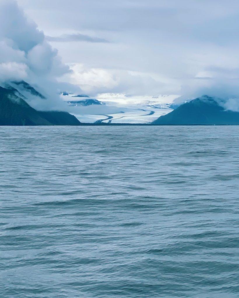 bear glacier in seward alaska