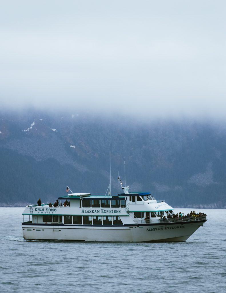 The Alaskan explorer boat from Kenai Fjords Tours