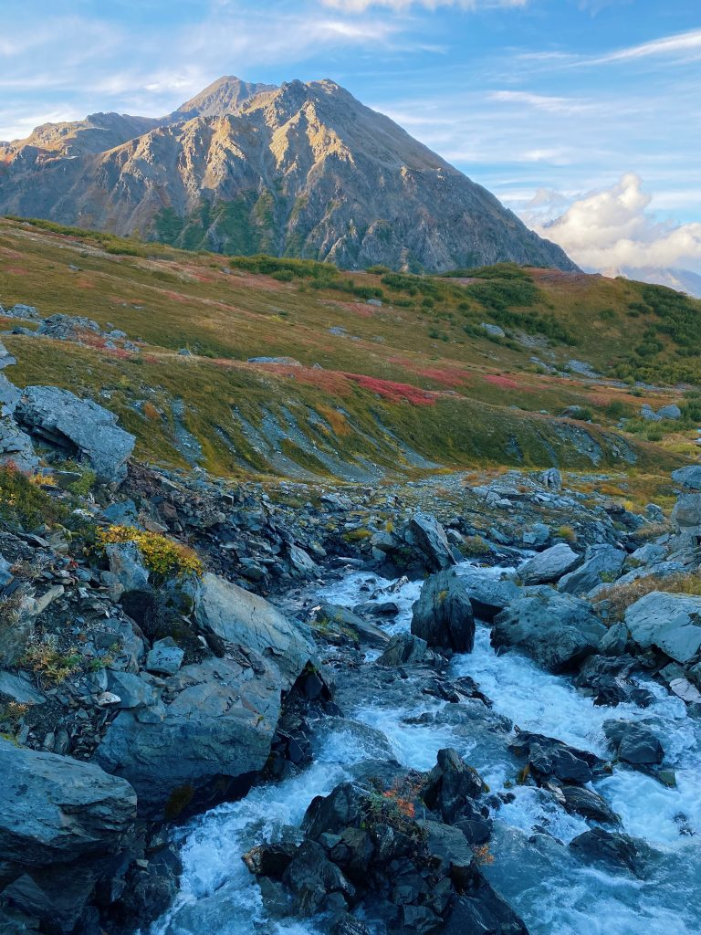 hiking mt marathon seward alaska