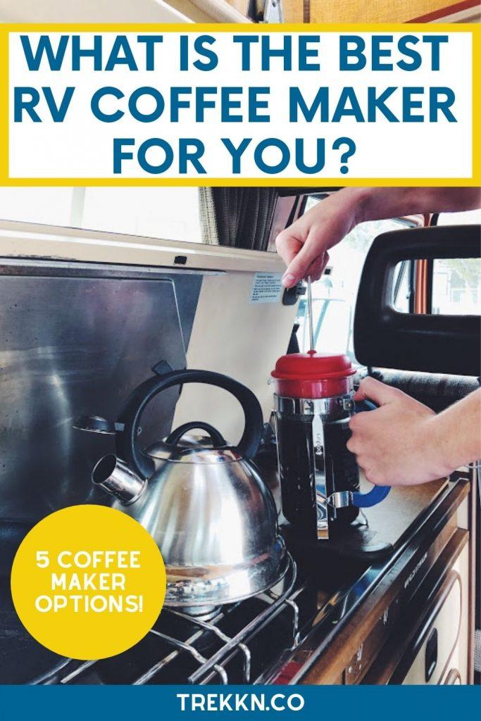best rv coffe maker options