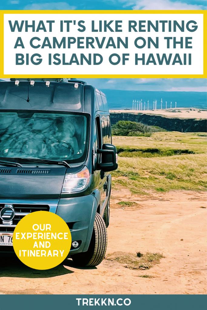 renting a campervan big island hawaii