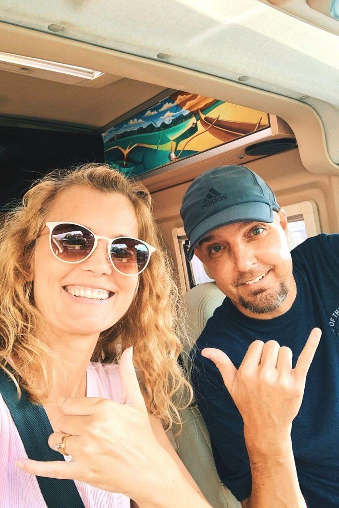 we rented a campervan on the Big Island of Hawaii