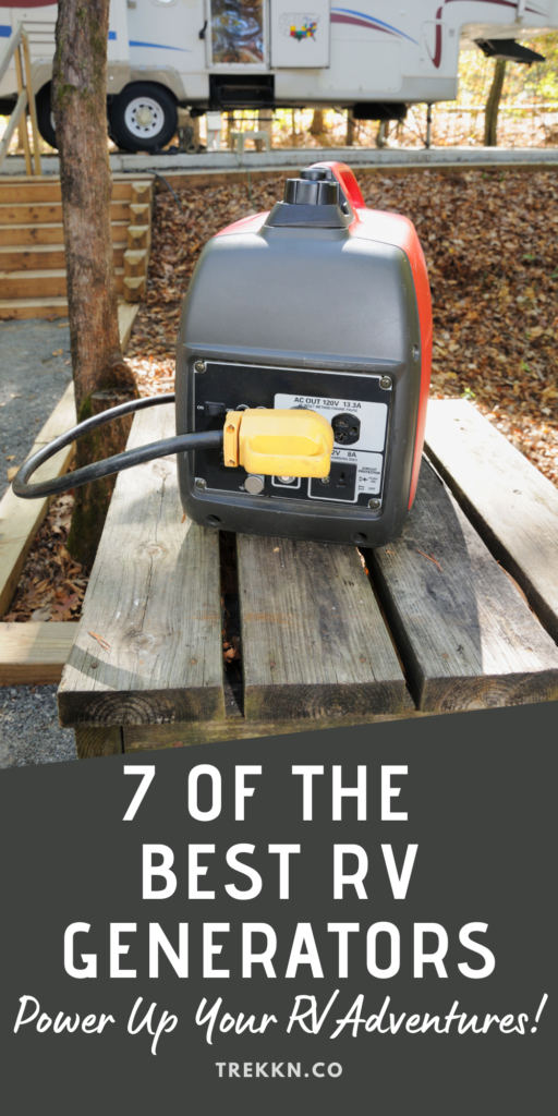 a round up of the best rv generators