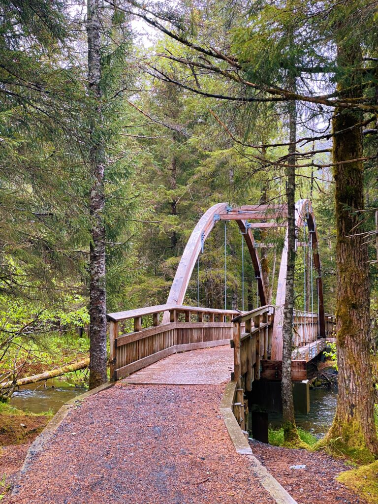 walking trails in the williwaw campground alaska