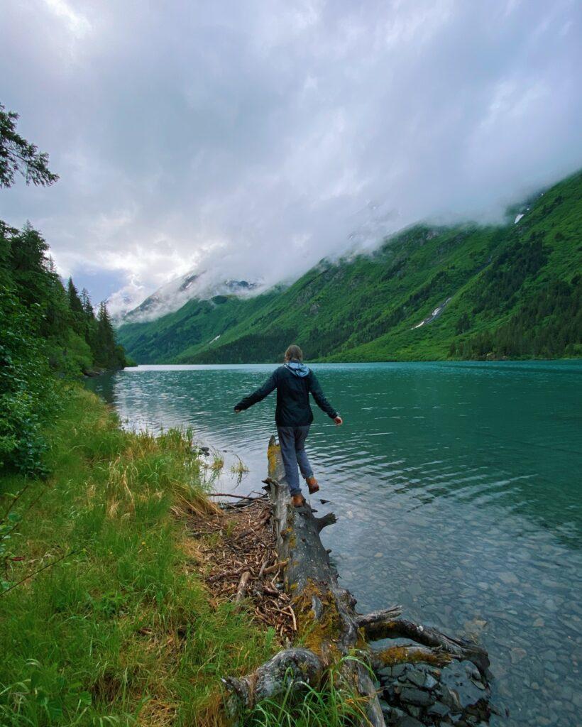 Ptarmigan Lake Trail in Alaska
