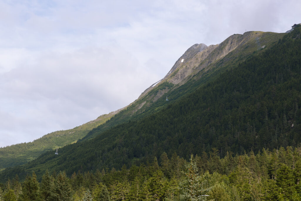 The views in Girdwood Alaska