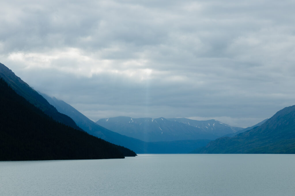 Kenai Lake in Alaska