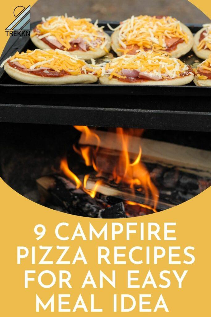 campfire pizza recvipes