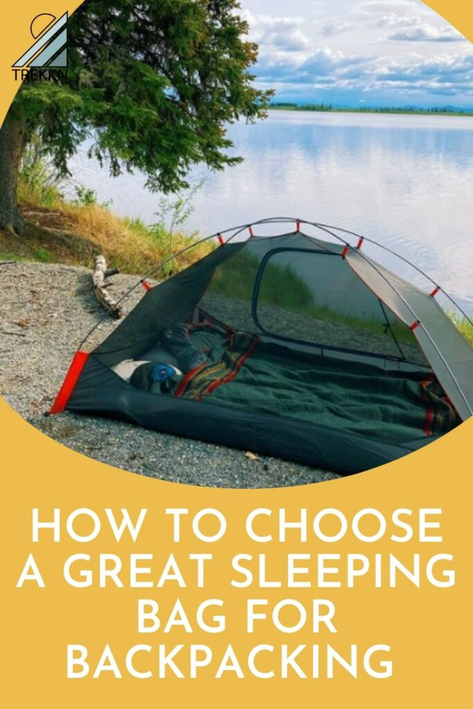 how to choose the best sleeping bag for backpacking