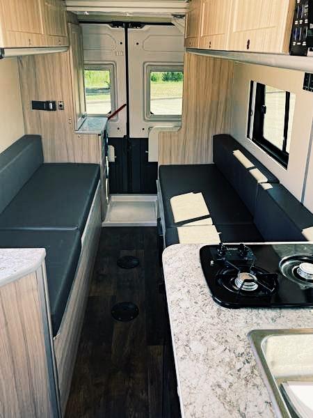 Inside the 2018 Carado/Hymer Sunlight Van One