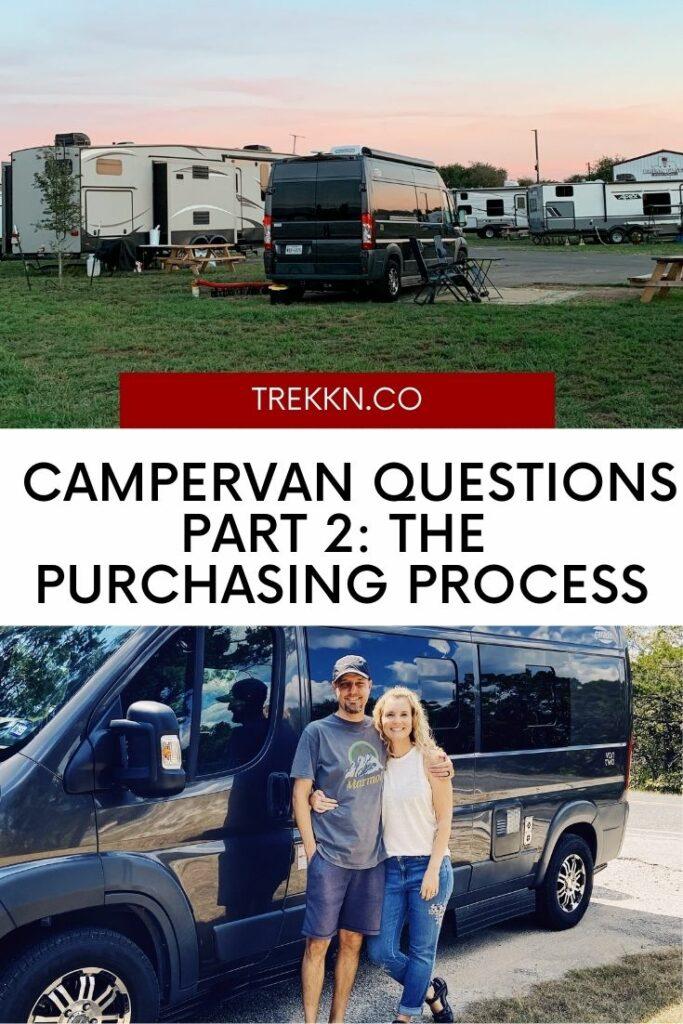campervan questions part 2