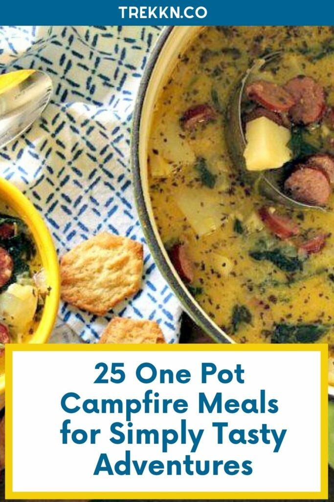 one pot campfire meals